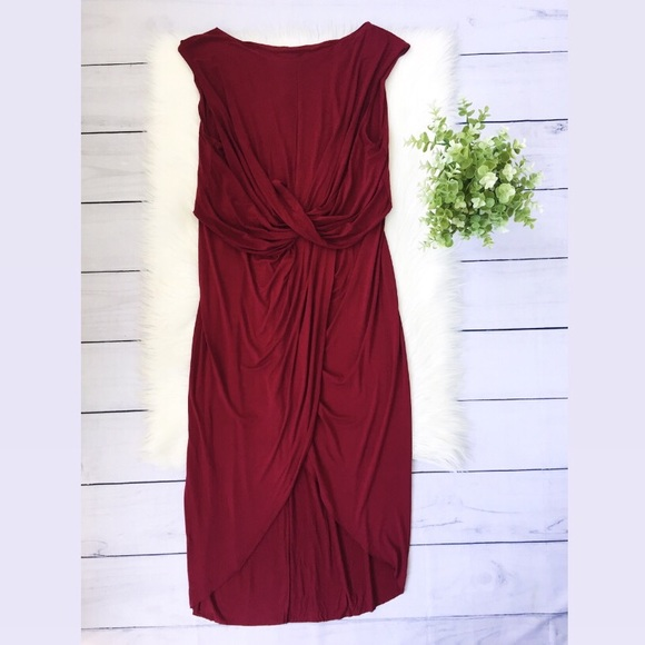 Free People Dresses & Skirts - NWT Free People Beach Red Front Midi Dress #772